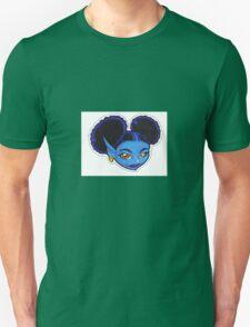 AFRO PUFF PIXIE BLUE Unisex T-Shirt