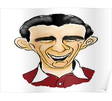 Jimmy Wardhaugh Cartoon Caricature Poster