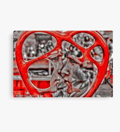Valentines Day… Canvas Print