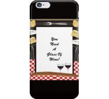 Glass Of Wine iPhone Case/Skin