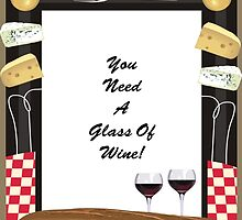Glass Of Wine by tvlgoddess