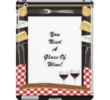 Glass Of Wine iPad Case/Skin