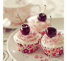 A little cupcake heaven... Photographic Print
