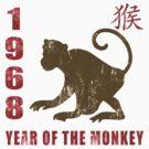 Year of The Monkey 1968 Chinese Zodiac Monkey 1968 by ChineseZodiac