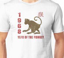 Year of The Monkey 1968 Chinese Zodiac Monkey 1968 Unisex T-Shirt