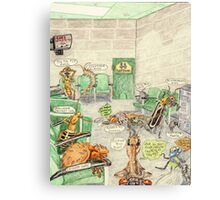 Prisoner's Waiting Room, Bugs Gone Bad Canvas Print