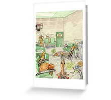 Prisoner's Waiting Room, Bugs Gone Bad Greeting Card
