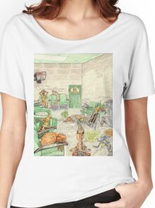 Prisoner's Waiting Room, Bugs Gone Bad Women's Relaxed Fit T-Shirt