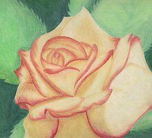 Two-tone Rose by Rhonda Blais