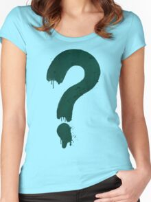 Mystery Shack Staff Shirt Women's Fitted Scoop T-Shirt