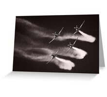 The Roulettes Greeting Card