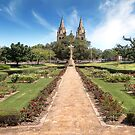 Cross of Sacrifice Memorial Garden - Adelaide by Shannon Rogers