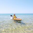 Bev - enjoying the relaxing, soothing water by gaylene