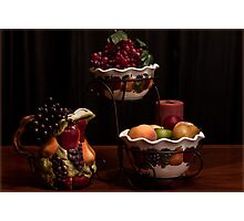 The Delicious Fruit Family Photographic Print