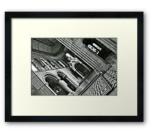 Mansfield Traquair centre interior Framed Print