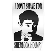 Shave for Sherlock Poster