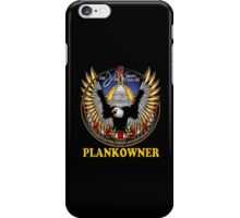 SSN-785 Plank Owner Logo for Dark Colors iPhone Case/Skin