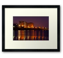 """""""Industrial Reflections"""" Framed Print"""