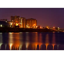 """Industrial Reflections"" Photographic Print"