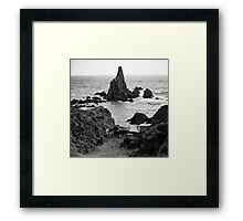 Coast of Spain Framed Print