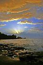 Sunset Splash by David Alexander Elder