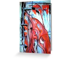 Blood in My Veins Greeting Card