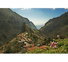 Masca - A Village in theMountains Photographic Print