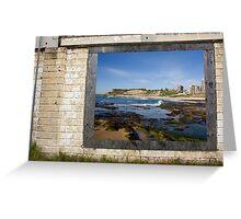 Coastal Contrasts Greeting Card