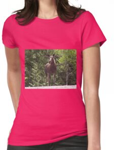 Bull Moose Womens Fitted T-Shirt