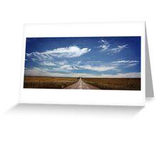 near Warooka, Yorke Peninsula, S.A. Greeting Card
