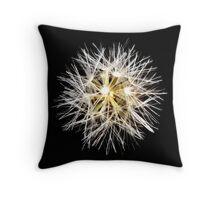 Sparkle flower Throw Pillow