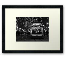 Zurich Tram Framed Print