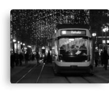 Zurich Tram Canvas Print