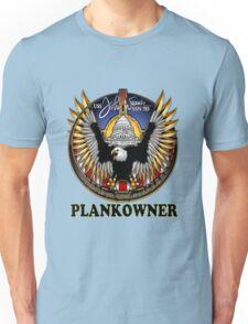 SSN-785 USS John Warner Plank Owner Crest Unisex T-Shirt