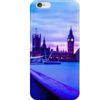 Long Exposure London Sunset iPhone Case/Skin