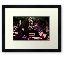 A Bloody Tea Party Framed Print