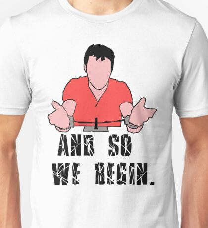 the following Unisex T-Shirt