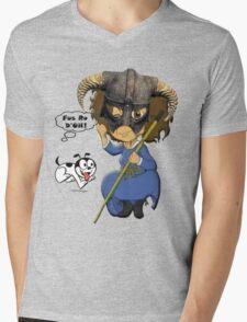 FUS RO D'OH! Mens V-Neck T-Shirt
