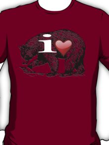 I LOVE BEAR T-Shirt