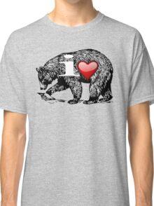 I LOVE BEAR Classic T-Shirt