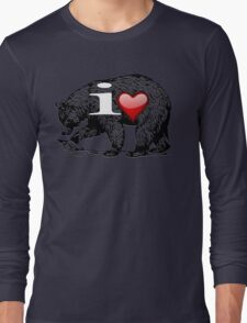I LOVE BEAR Long Sleeve T-Shirt