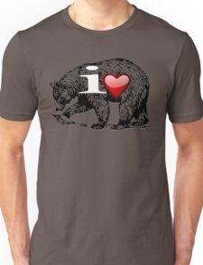 I LOVE BEAR Unisex T-Shirt
