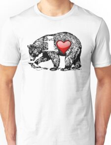 I LOVE BEAR Unisex T-Shirt