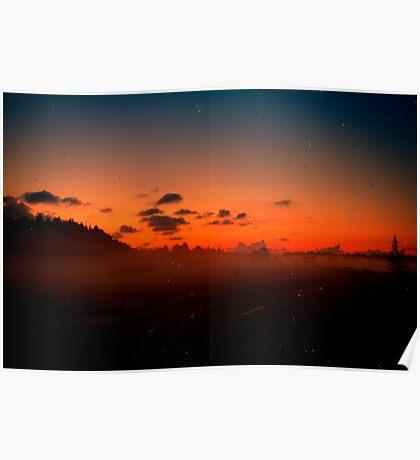 Sunset Yet Again. Poster