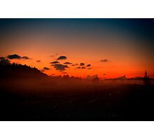 Sunset Yet Again. Photographic Print