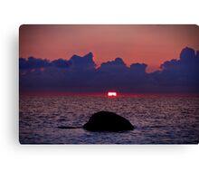 Sunset Yet Again. Canvas Print