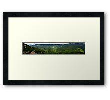 Sa Pa - Panorama Framed Print