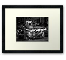 A City Oasis Framed Print