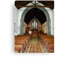 St Eunan 's Cathedral Raphoe, Donegal, Ireland Canvas Print