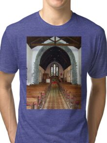 St Eunan 's Cathedral Raphoe, Donegal, Ireland Tri-blend T-Shirt